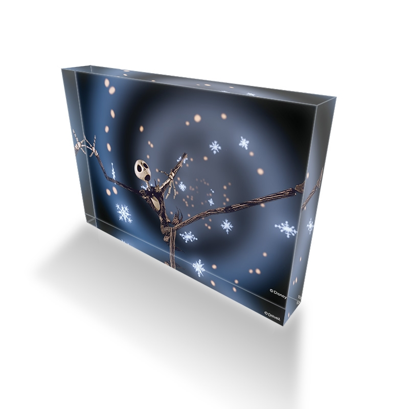 【D-Made】アクリルブロック 映画『ティム・バートン ナイトメアー・ビフォア・クリスマス』 ジャック・スケリントン