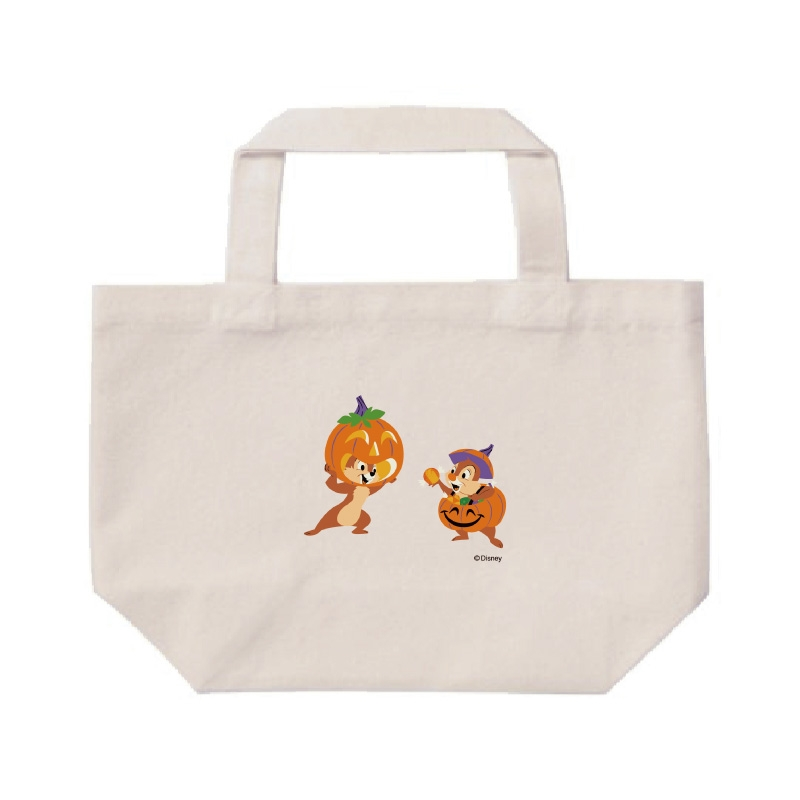 【D-Made】ミニトートバッグ  チップ&デール かぼちゃ Disney Halloween 2021