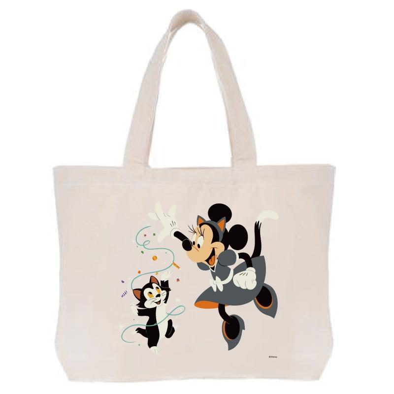 【D-Made】トートバッグ  ミニー&フィガロ Disney Halloween 2021