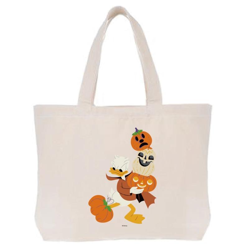 【D-Made】トートバッグ  ドナルド かぼちゃ Disney Halloween 2021