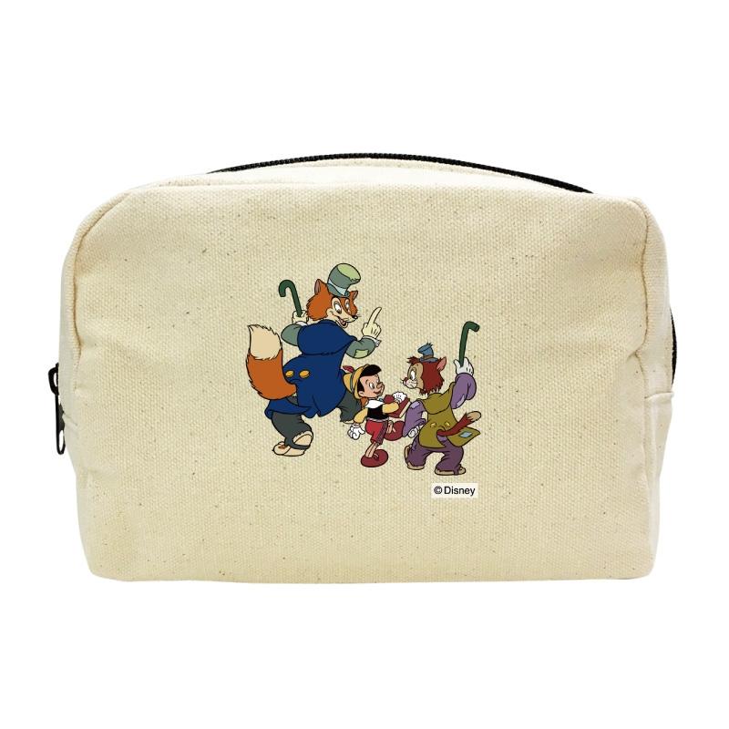 【D-Made】キャンバスポーチ ピノキオ ピノキオ&正直ジョン&ギデオン
