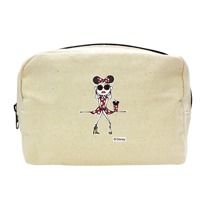 【D-Made】キャンバスポーチ Disney Artist Collection by Daichi Miura