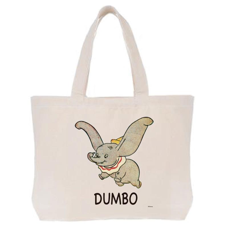 【D-Made】トートバッグ  ダンボ ロゴ Dumbo 80