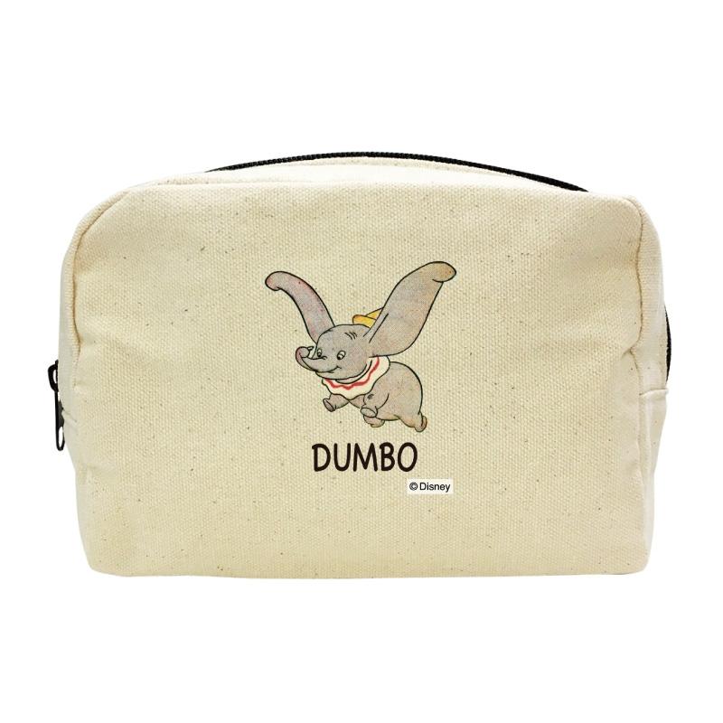 【D-Made】キャンバスポーチ ダンボ ロゴ Dumbo 80