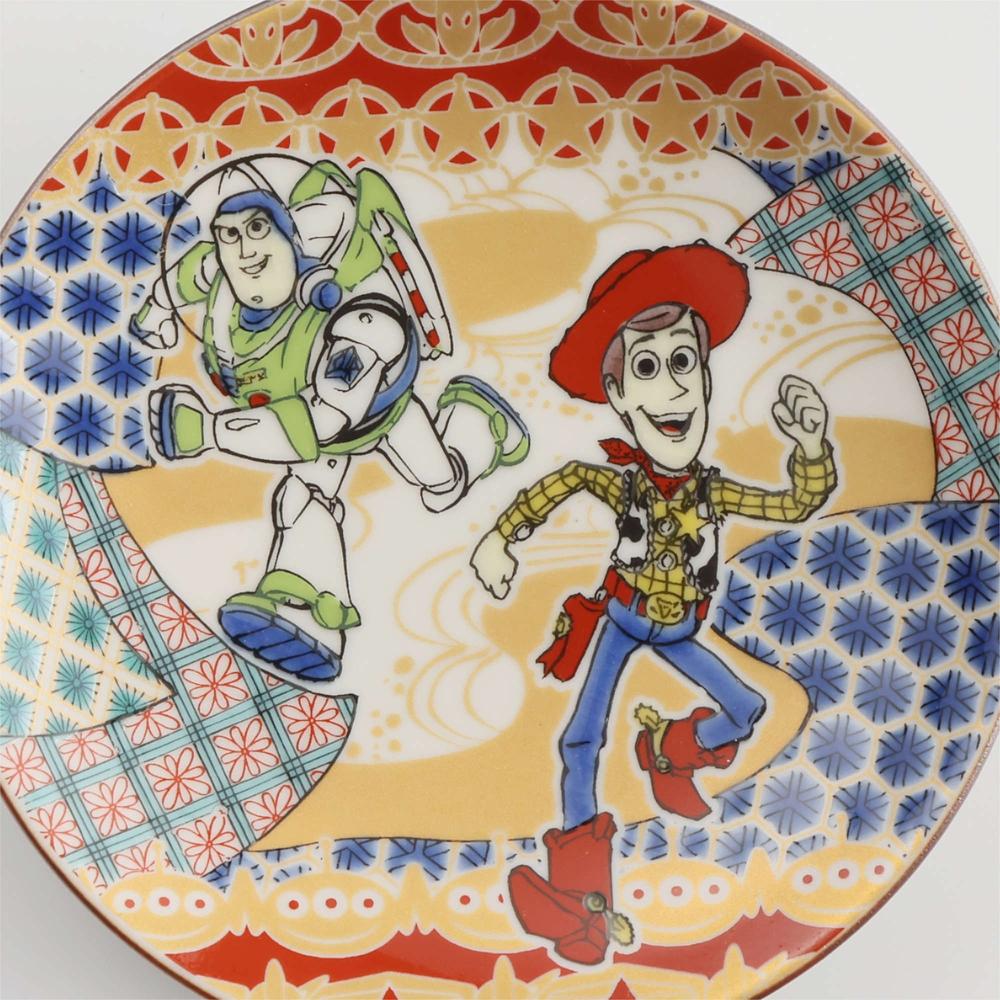九谷焼小皿 ウッディ&バズ
