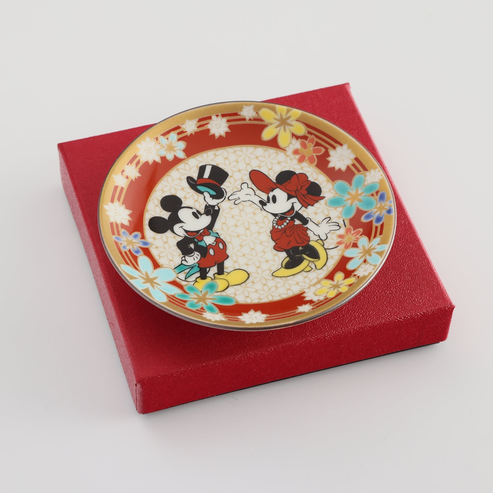 ミッキーマウス/小皿 花詰