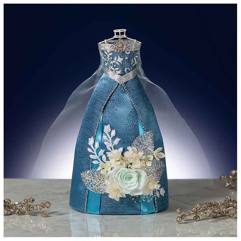 エルサ プリザーブドフラワー アナと雪の女王 Dress