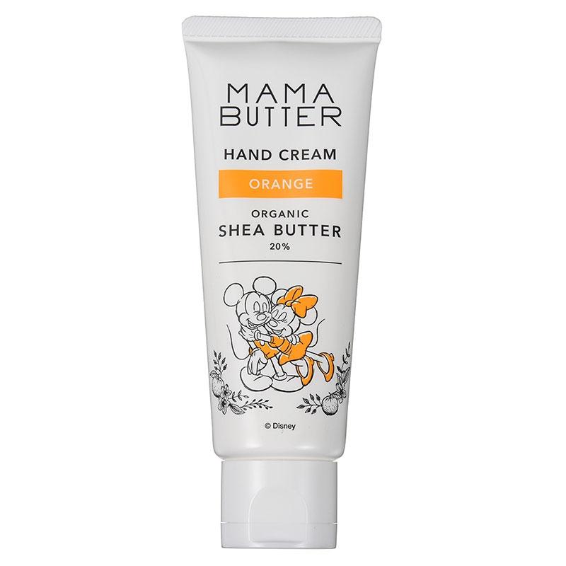 【MAMA BUTTER】ミッキー&ミニー ハンドクリーム オレンジ