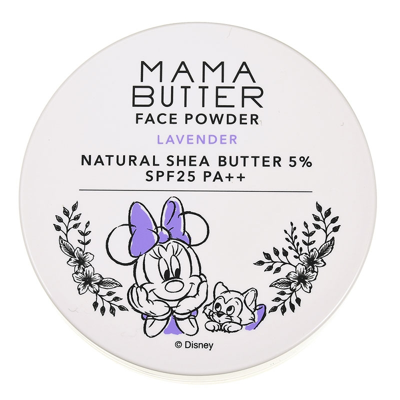 【MAMA BUTTER】ミニー&フィガロ フェイスパウダー ナチュラル ラベンダー