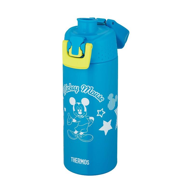 【THERMOS(サーモス)】真空断熱スポーツボトル ミッキー ブルーライム
