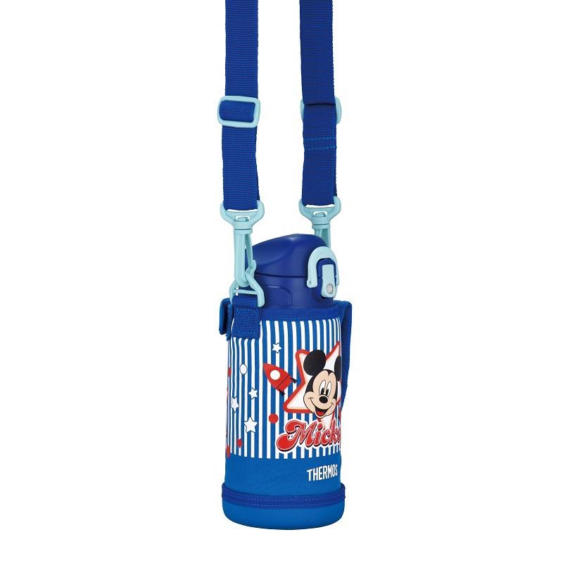 【THERMOS(サーモス)】真空断熱2WAYボトル ミッキー ブルー