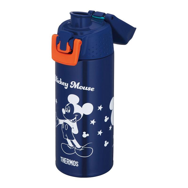 【THERMOS(サーモス)】ミッキー 真空断熱スポーツボトル ブルードット