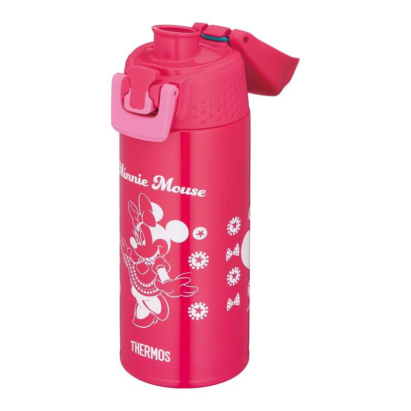 【THERMOS(サーモス)】ミニー 真空断熱スポーツボトル ピンクドット