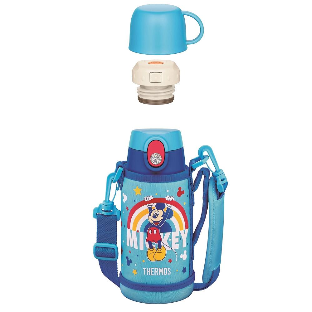 【THERMOS(サーモス)】ミッキー 真空断熱2ウェイボトル ブルー