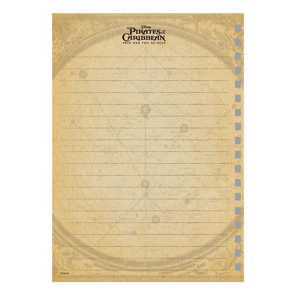パイレーツ・オブ・カリビアン ゴムバンド付きリングノート
