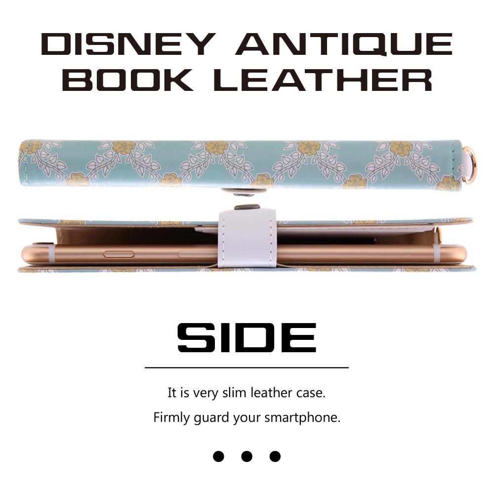 ディズニー・アンティーク・汎用レザーケース Lサイズ(合皮)