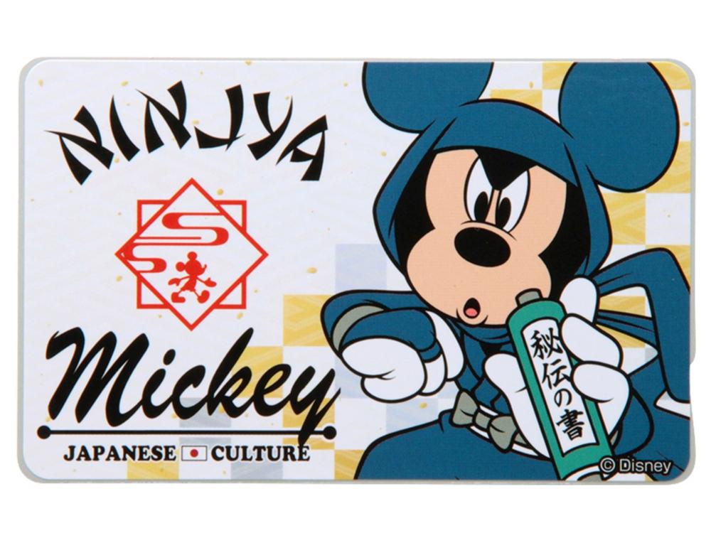 ICカードステッカー/和・ミッキー