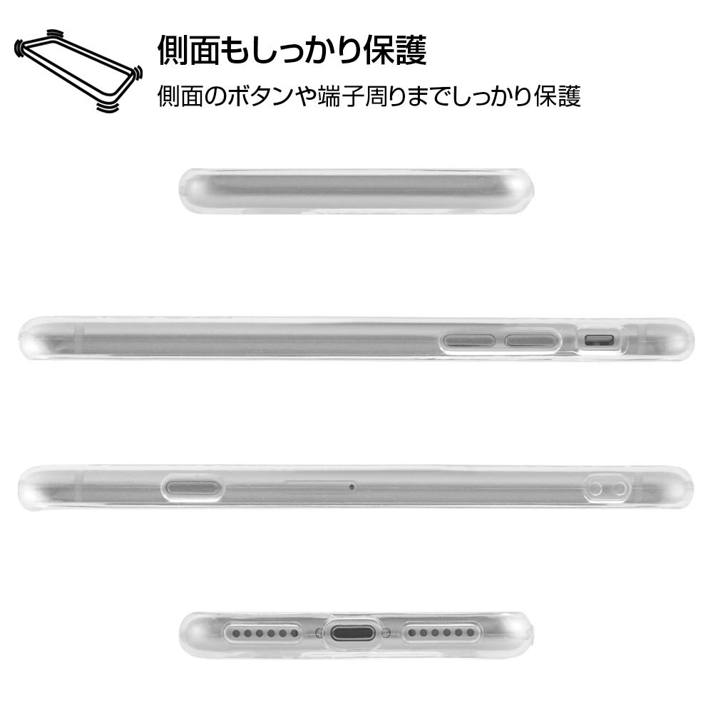 iPhone 8/7 ディズニーキャラクター/TPUソフトケース キラキラ/ミッキー