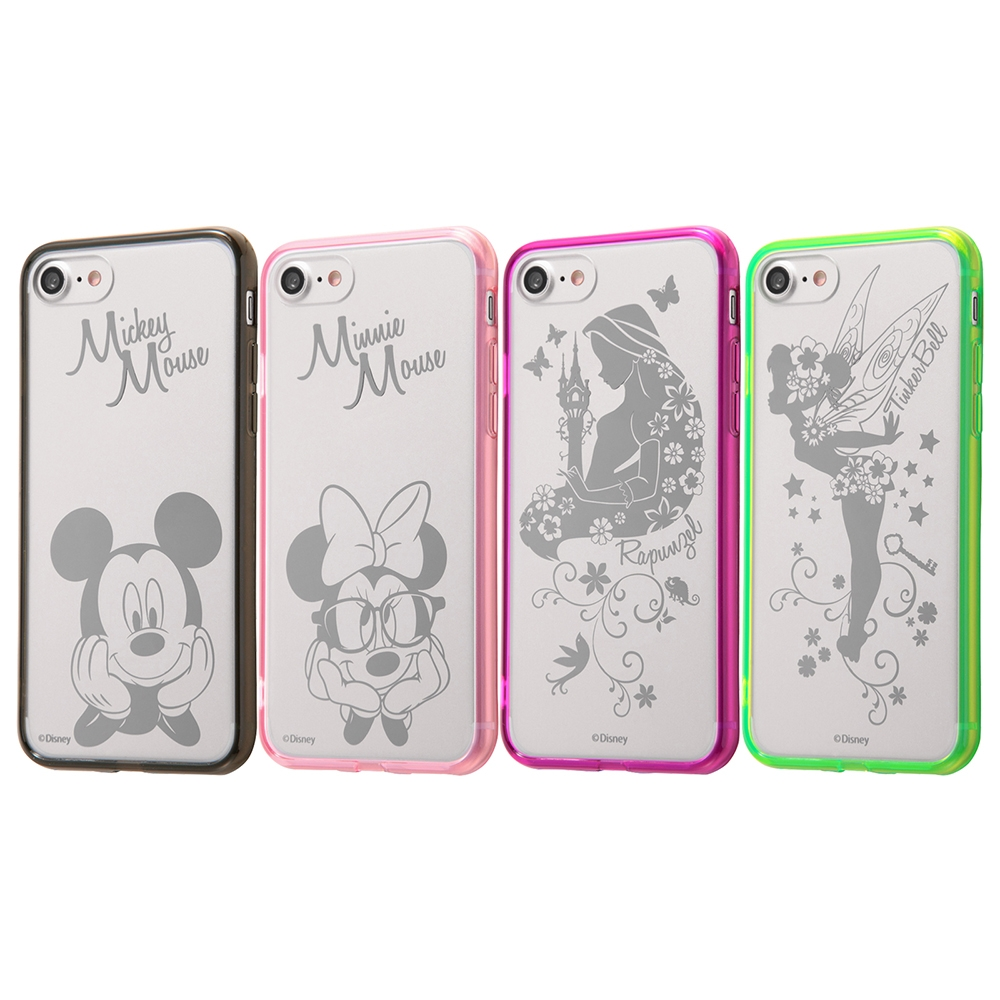iPhone SE(第2世代)/8/ 7  ディズニーキャラクター/ハイブリッドケース/ラプンツェル