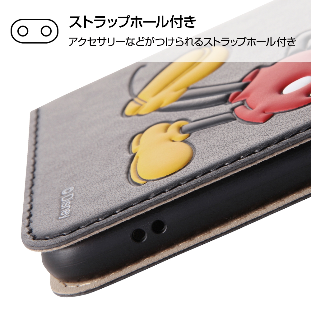 iPhone SE(第2世代)/8/ 7  ディズニーキャラクター/手帳型ケース スタンディング/ドナルド