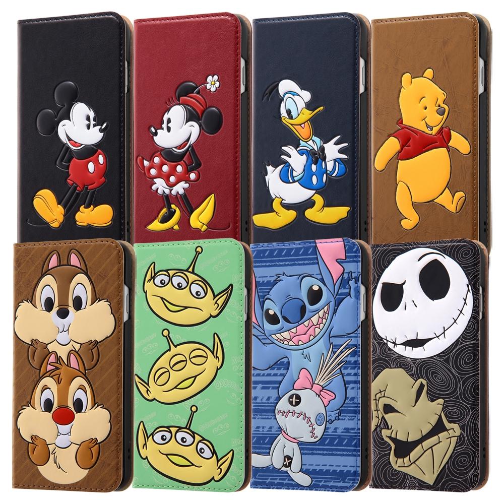 iPhone SE(第2世代)/8/ 7  ディズニーキャラクター/手帳型ケース フェイス×フェイス/スティッチ