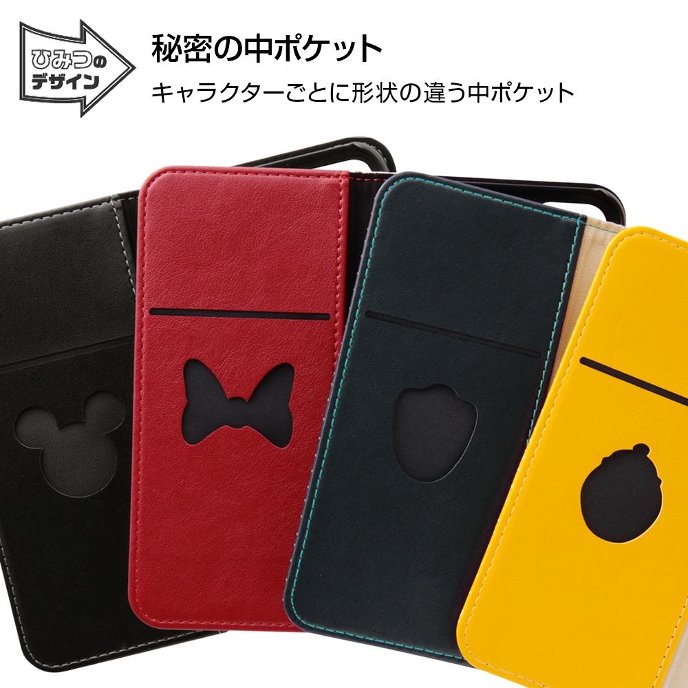 iPhone SE(第2世代)/8/ 7  ディズニーキャラクター/手帳型ケース スタンディング カーシヴ/ミッキー