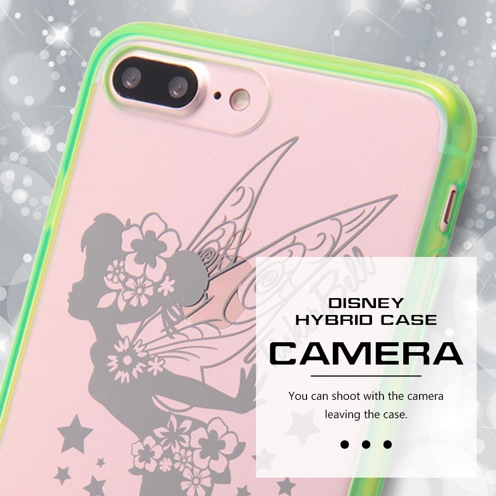 iPhone 8/7Plus ディズニーキャラクター/ハイブリッドケース/ミッキー
