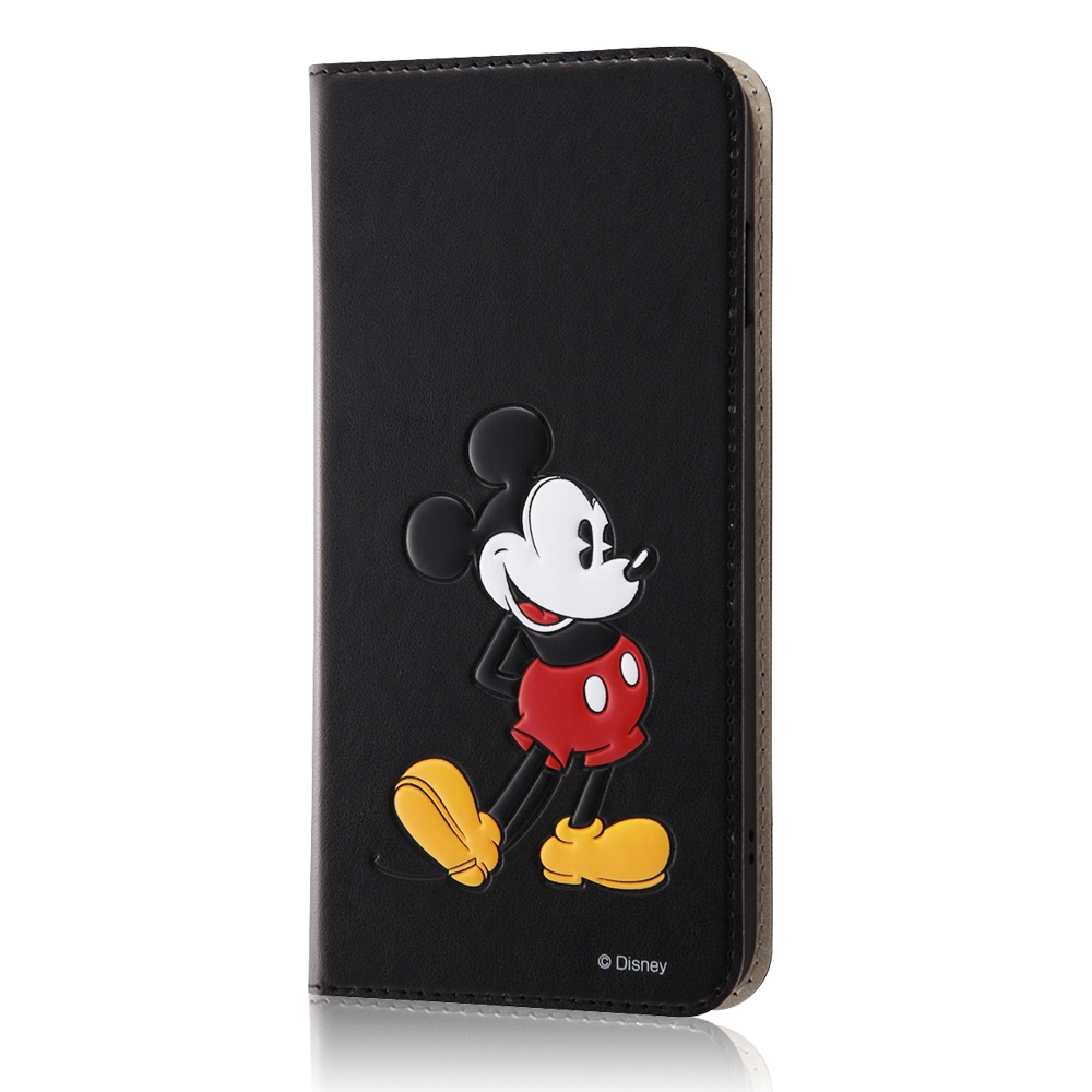 iPhone 8/7Plus ディズニーキャラクター/手帳型ケース スタンディング/ミッキー