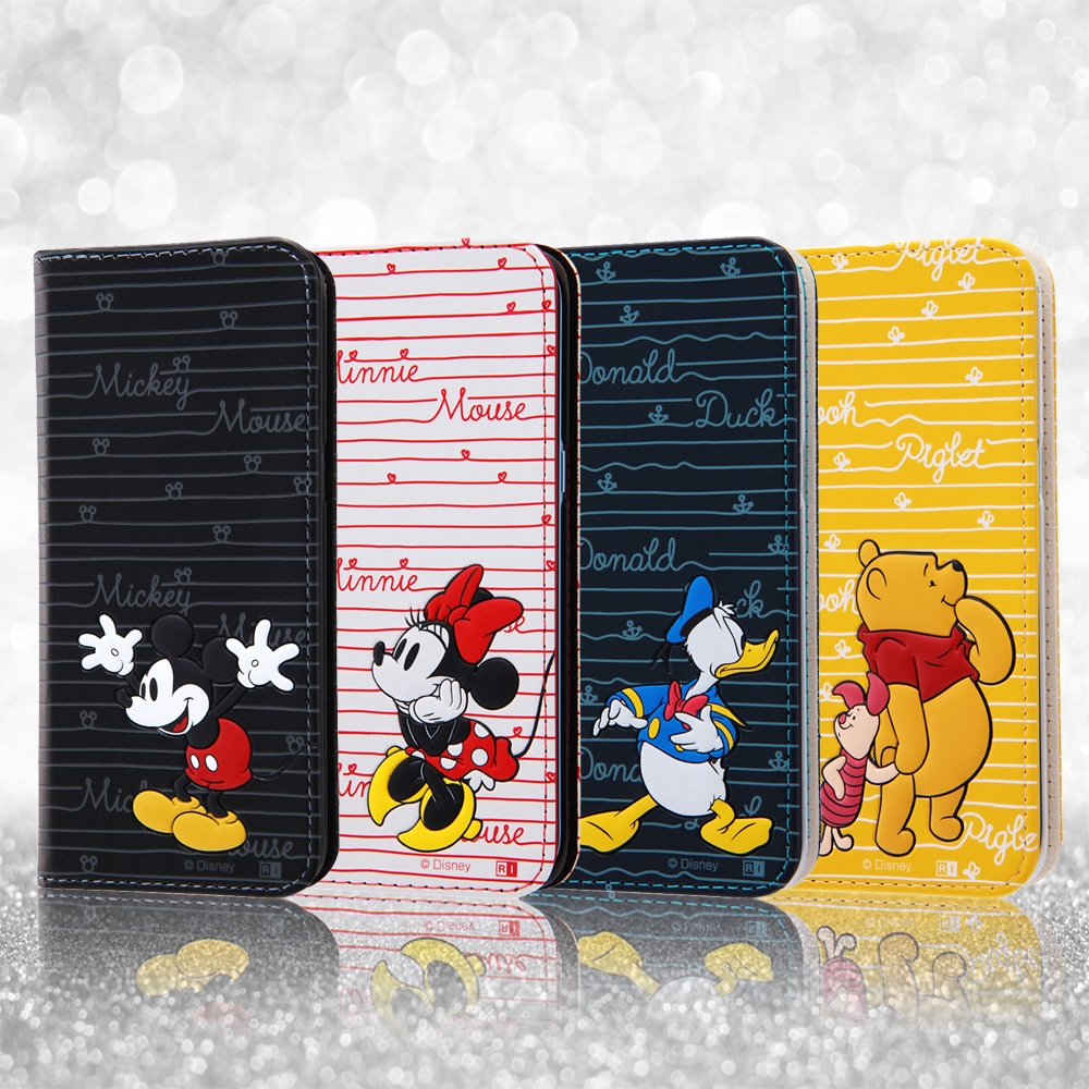 Galaxy S8 ディズニー 手帳型ケース スタンディング カーシヴ/プー