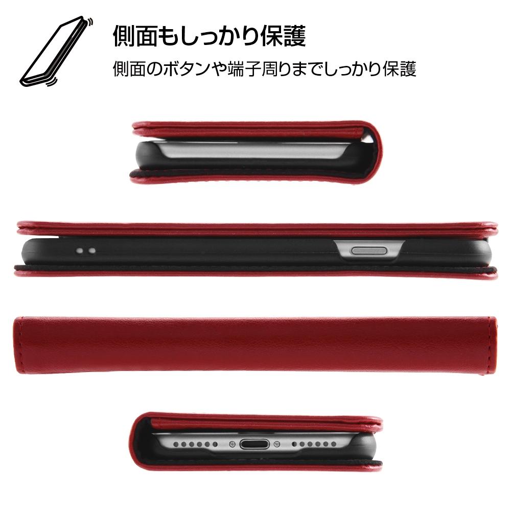 iPhone SE(第2世代)/8/ 7 ディズニーキャラクター/手帳型ケース ホットスタンプ ワンポイント/ミッキー