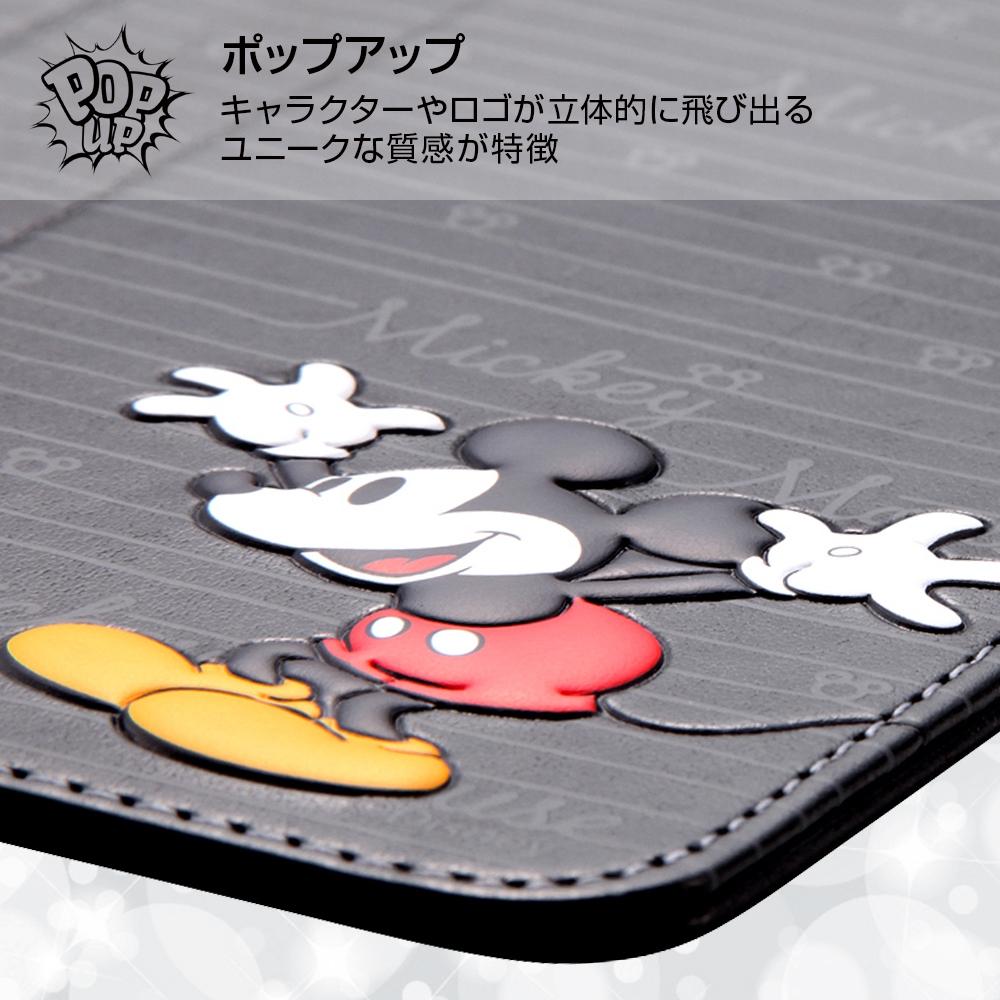 iPhone 8 Plus/iPhone 7 Plus ディズニーキャラクター/手帳型ケース スタンディング カーシヴ/ミニー
