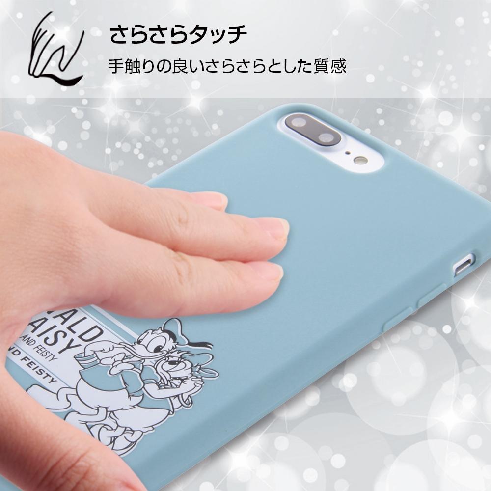 iPhone 8 Plus/iPhone 7 Plus ディズニーキャラクター/シリコンケース/ドナルド