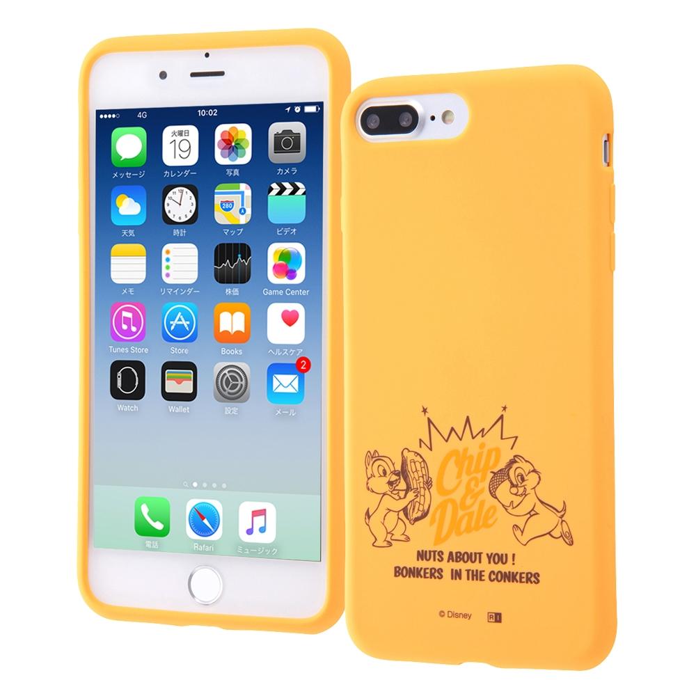 iPhone 8 Plus/iPhone 7 Plus ディズニーキャラクター/シリコンケース/チップ&デール