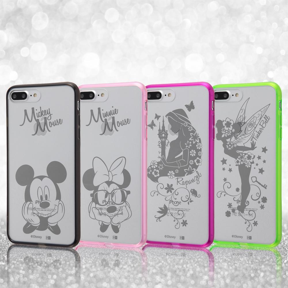 iPhone 8 Plus/iPhone 7 Plus ディズニーキャラクター/ハイブリッドケース/ラプンツェル