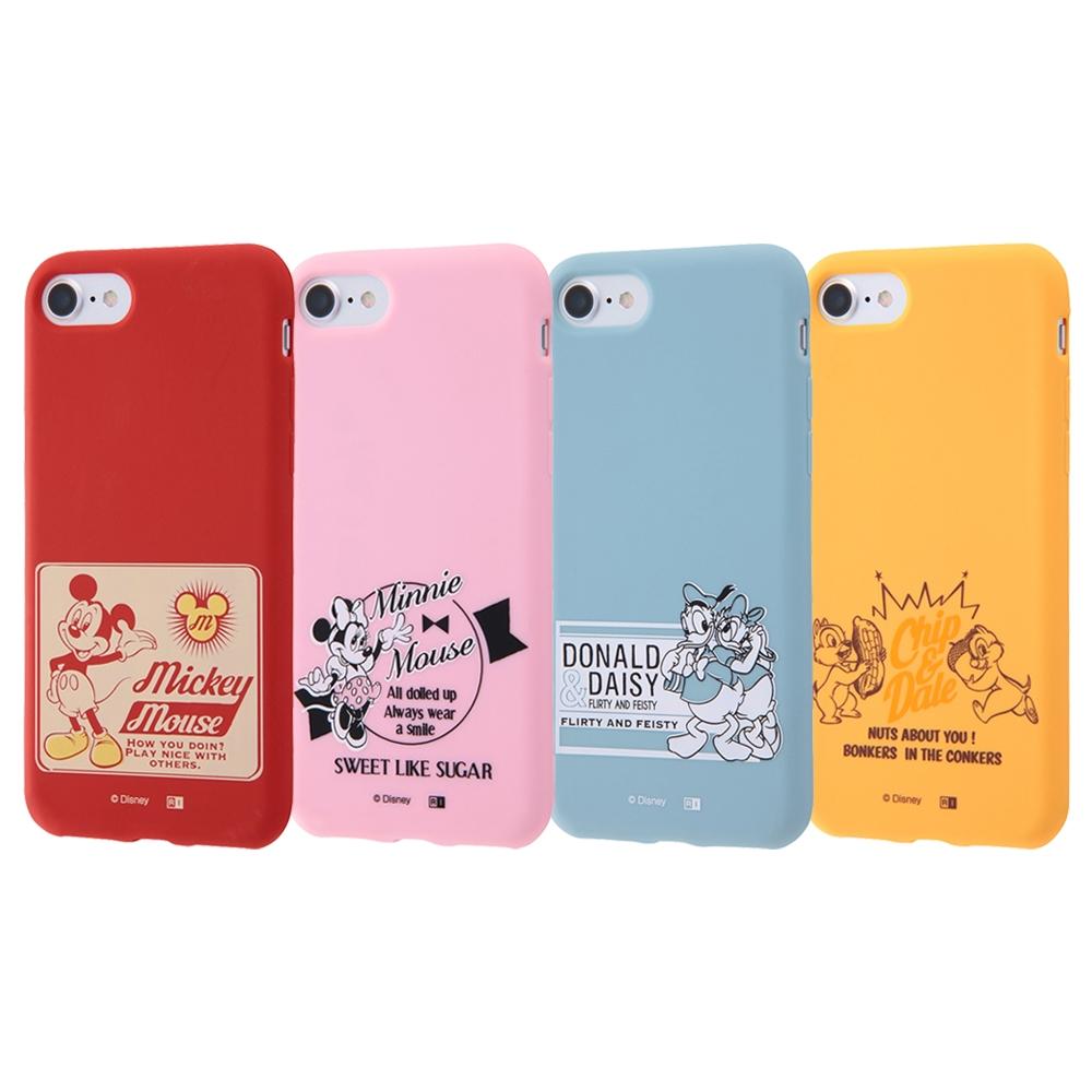 iPhone SE(第2世代)/8/ 7 ディズニーキャラクター/シリコンケース/ドナルド