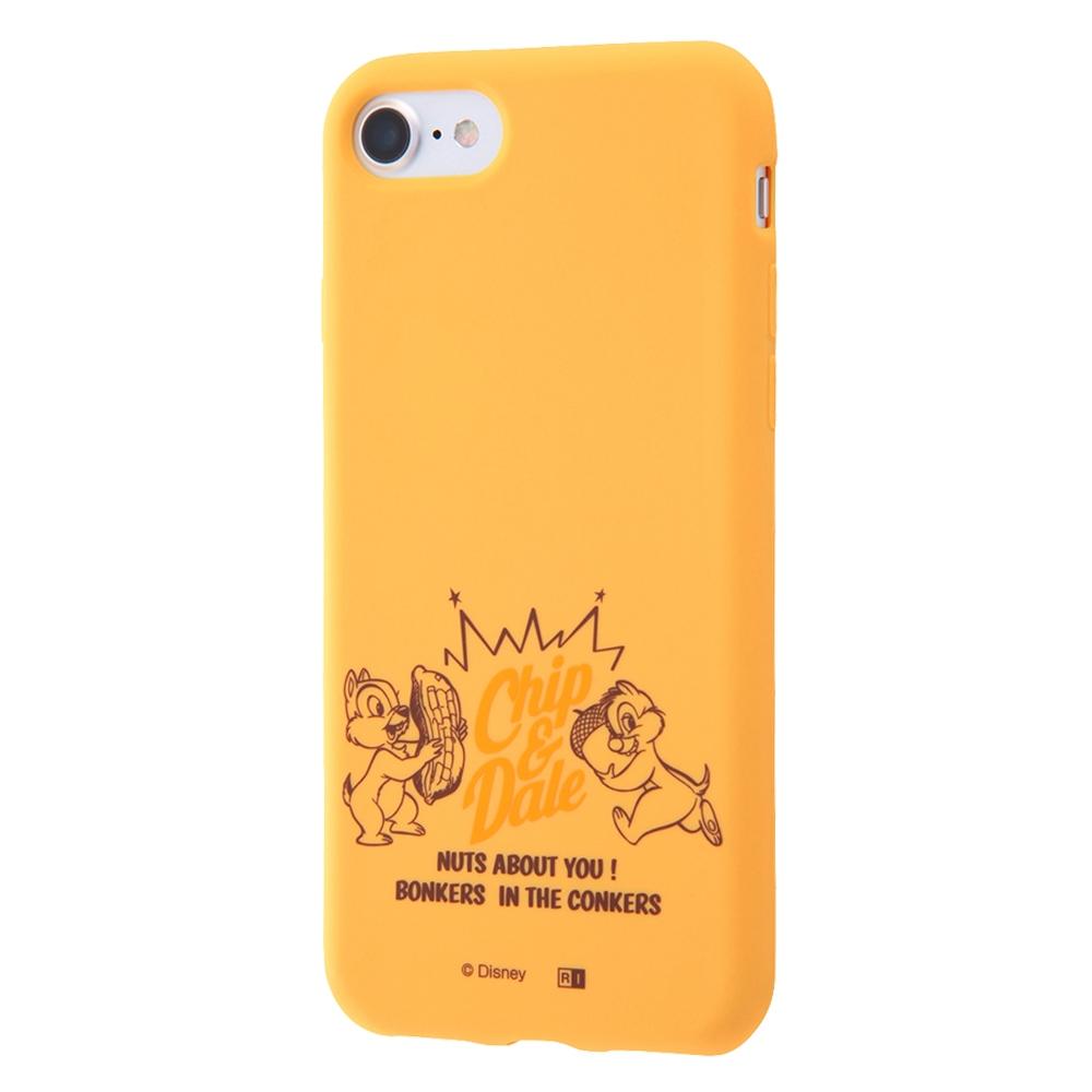iPhone SE(第2世代)/8/ 7 ディズニーキャラクター/シリコンケース/チップ&デール