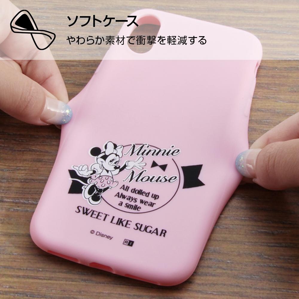 iPhone XS/X ディズニーキャラクター/シリコンケース/ミッキー