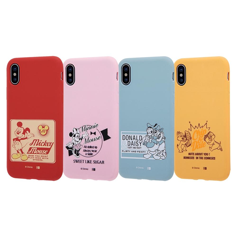 iPhone XS/X ディズニーキャラクター/シリコンケース/ドナルド