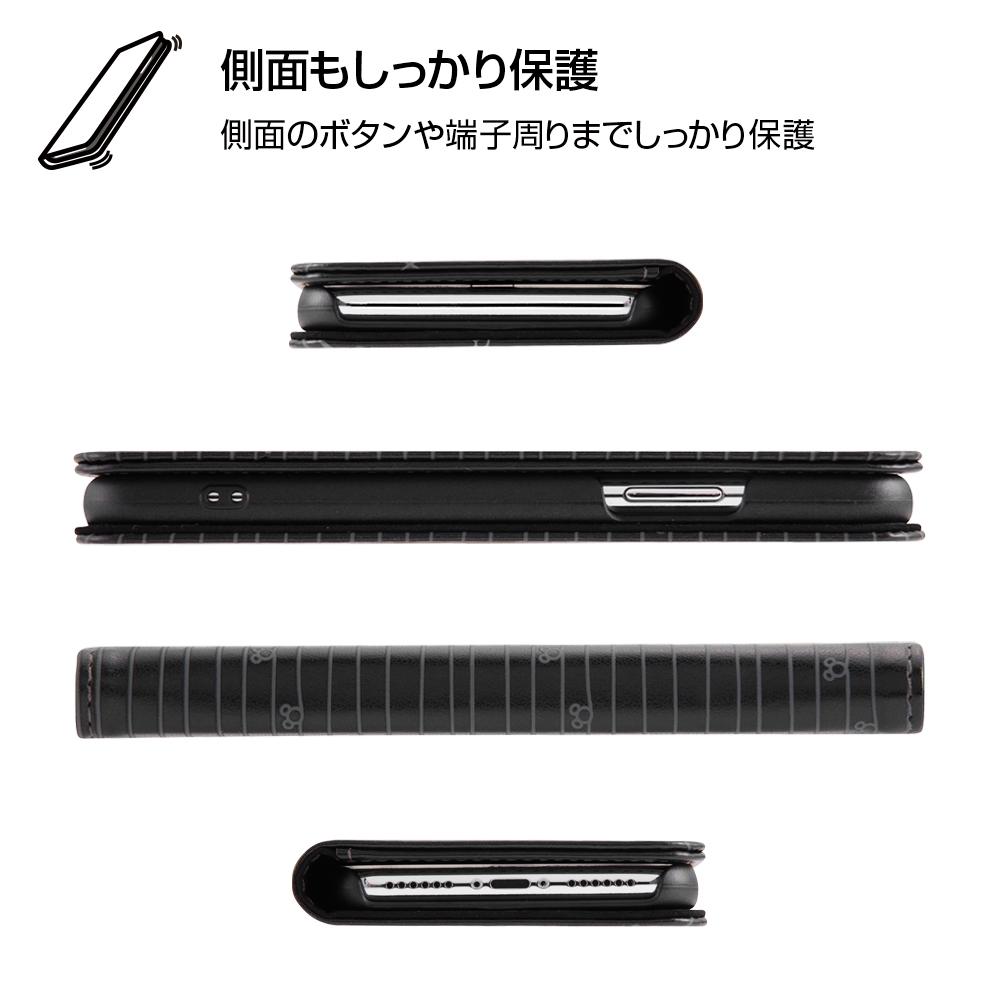 iPhone XS/X ディズニーキャラクター/手帳型ケース スタンディング カーシヴ/チップ&デール