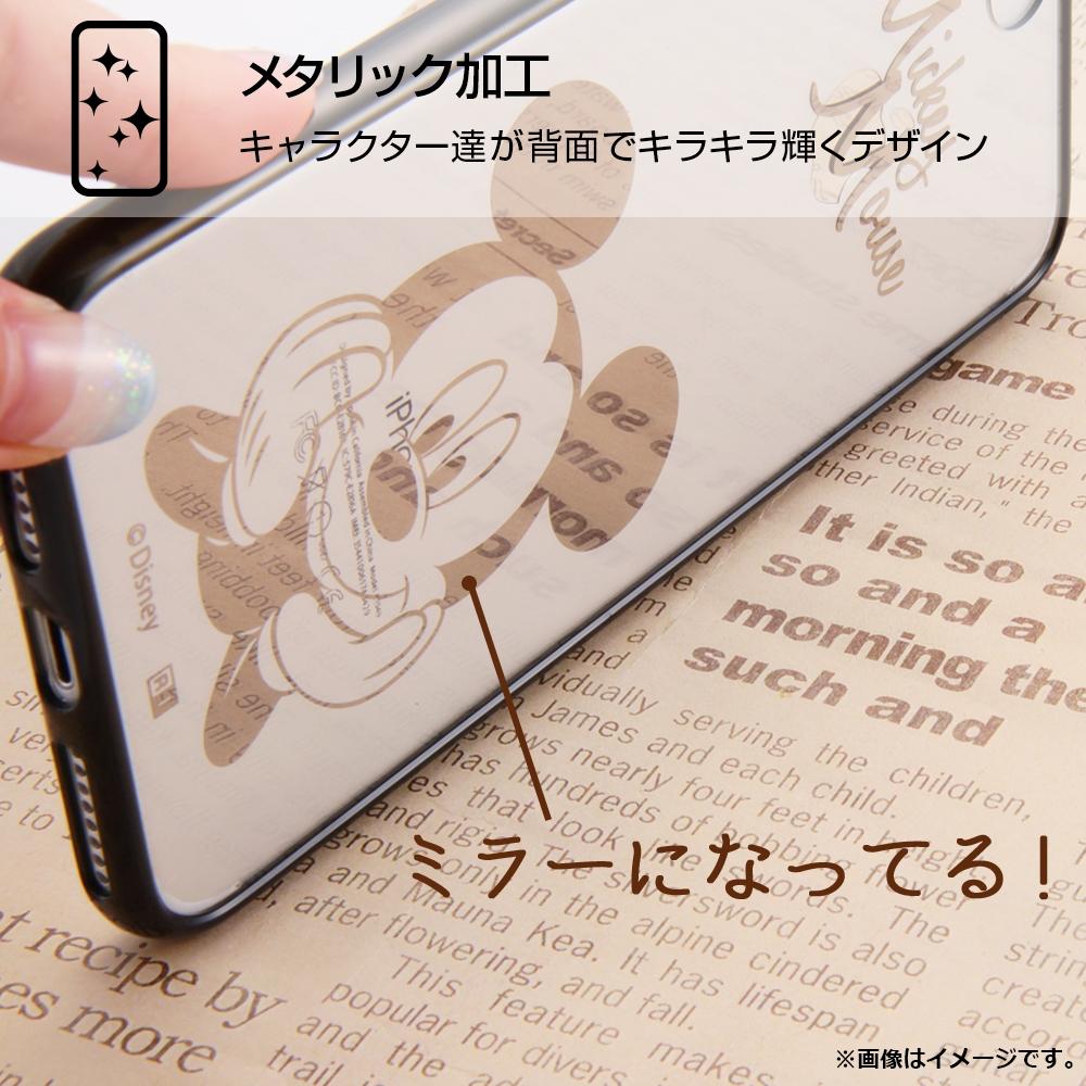 iPhone XS/X ディズニーキャラクター/ハイブリッドケース/ミニー