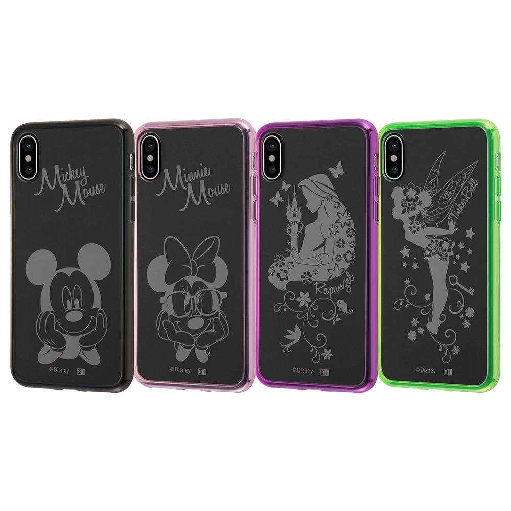 iPhone XS/X ディズニーキャラクター/ハイブリッドケース/ティンカー・ベル