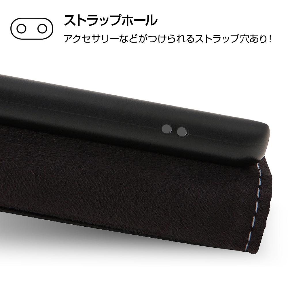 Xperia XZ1 Compact ディズニーキャラクター/手帳型ケース スタンディング カーシヴ/ミニー
