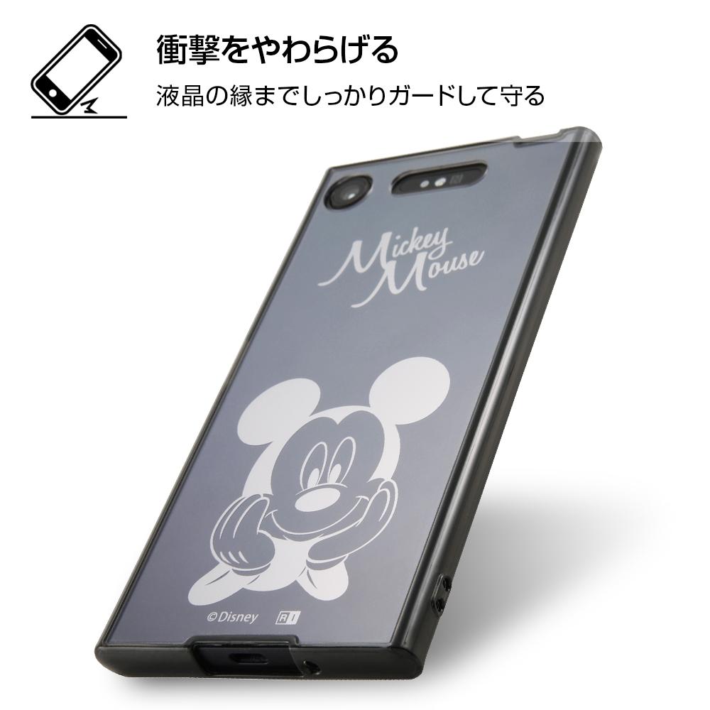 Xperia XZ1 ディズニーキャラクター/ハイブリッドケース/ミニー