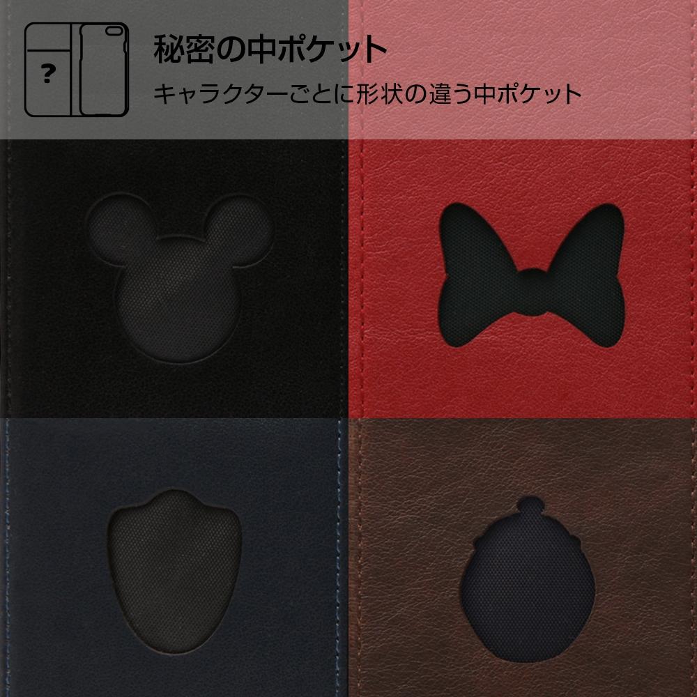 Galaxy Note8 ディズニーキャラクター/手帳型ケース ホットスタンプ ワンポイント/ドナルド