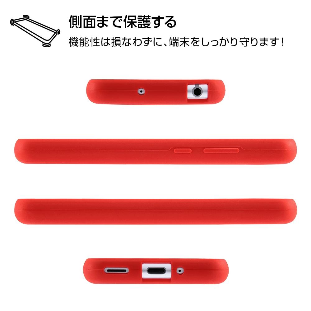 AQUOS R compact ディズニーキャラクター/シリコンケース/ミニー