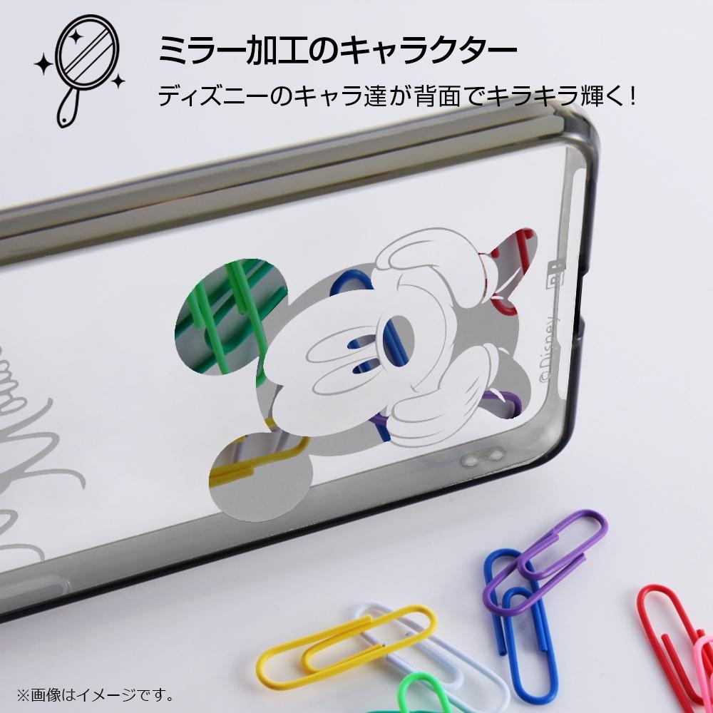 AQUOS R compact ディズニーキャラクター/ハイブリッドケース/ミニー
