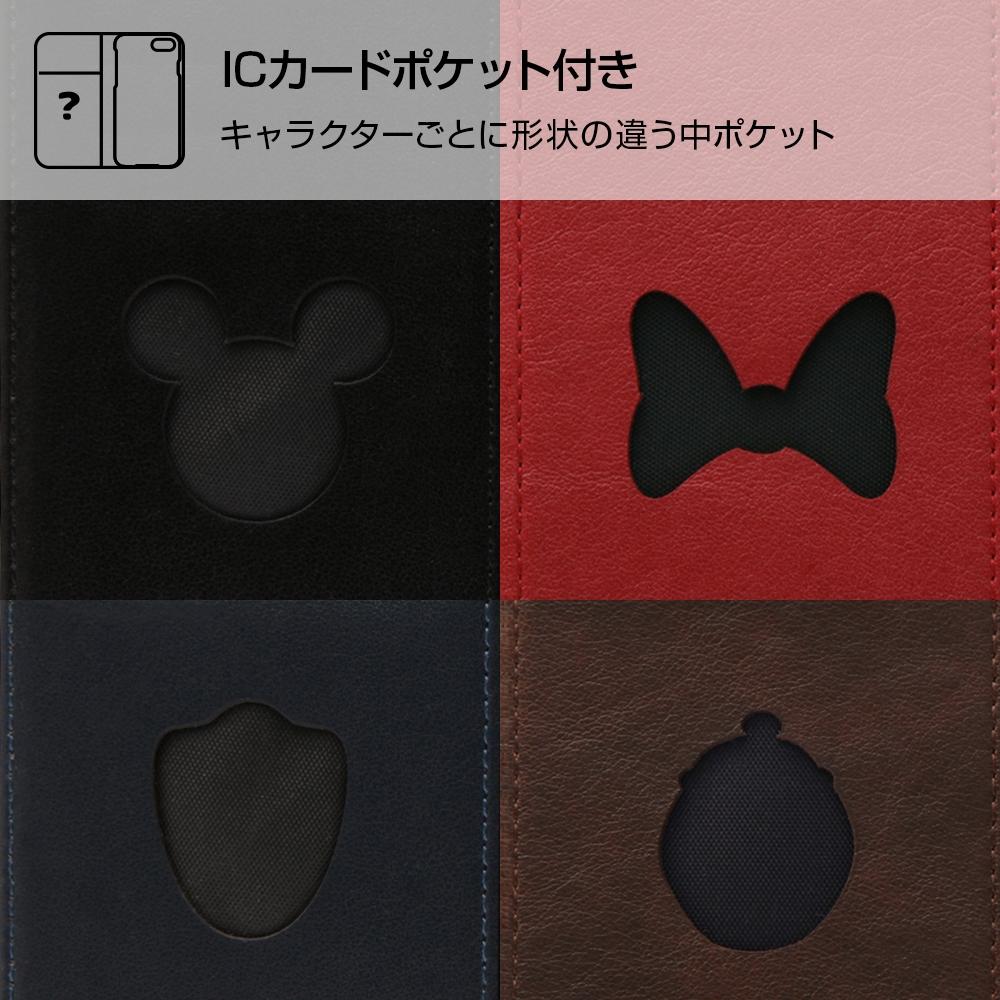 Galaxy S9 『ディズニーキャラクター』/手帳型ケース ホットスタンプ ワンポイント/ミニー