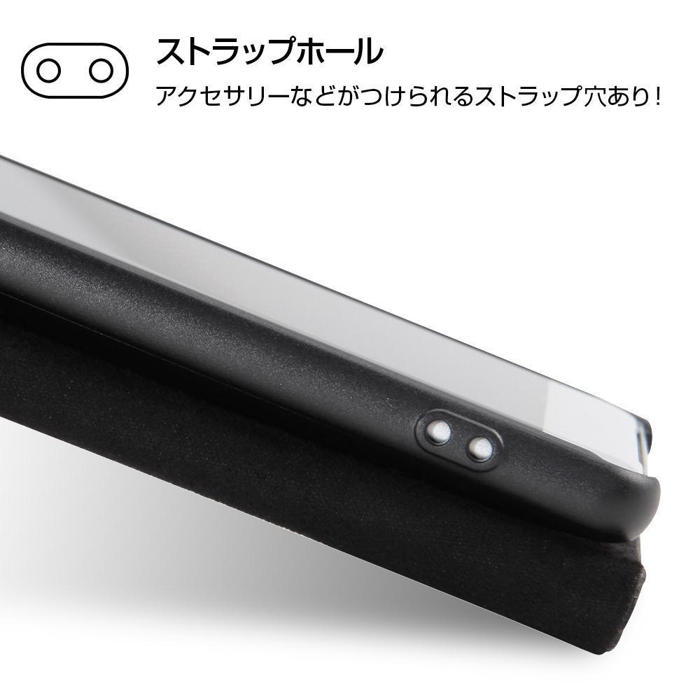 Xperia XZ2 『ディズニーキャラクター』/手帳型ケース ホットスタンプ ワンポイント/ドナルド