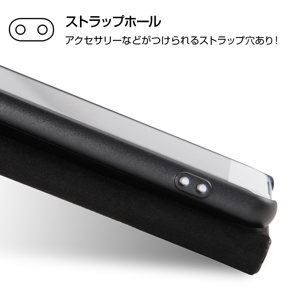 Xperia XZ2 『ディズニーキャラクター』/手帳型ケース スタンディング カーシヴ/ドナルド