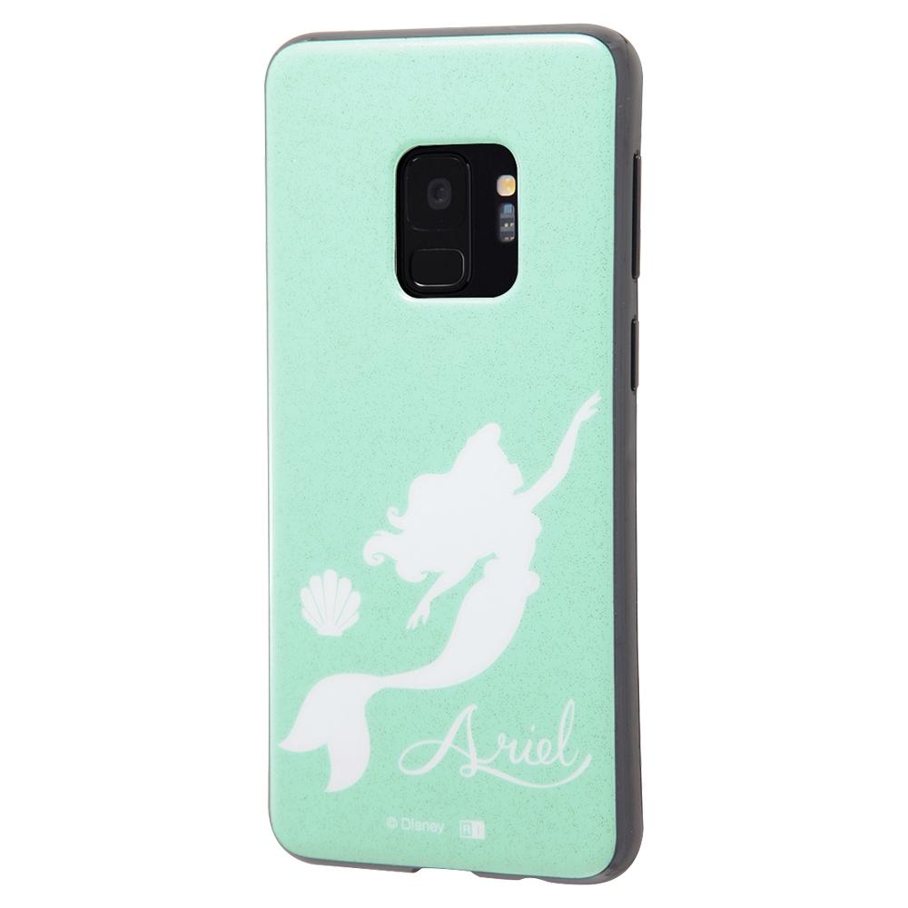 Galaxy S9 『ディズニーキャラクター』/TPUソフトケース 耐衝撃Light Pastel/アリエル